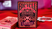Limited Edition Bicycle Ladybug (Black) Playing Cards