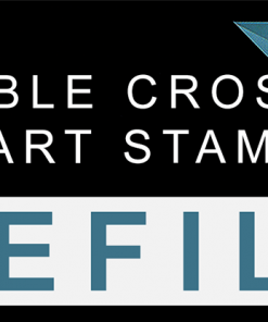 Heart Stamper Part for Double Cross (Refill) by Magic Smith - Trick