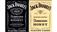 Jack Daniel's Black/Honey Set Playing Cards by USPCC