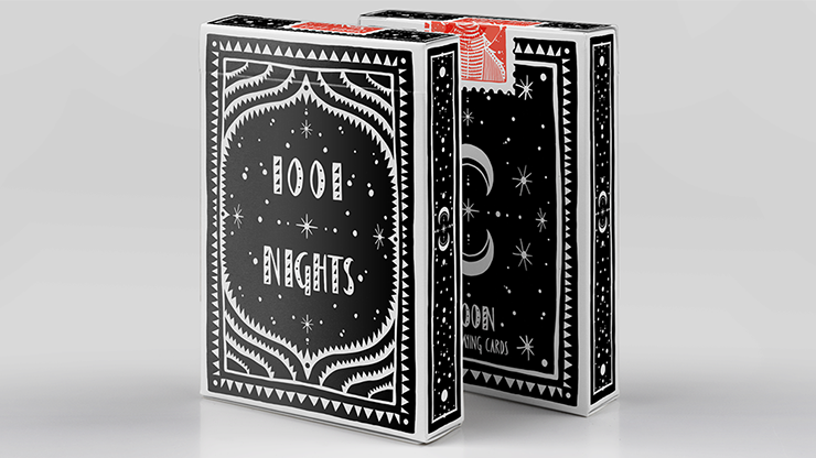 1001 Nights Moon Playing Cards