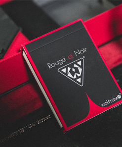 Limited Edition Wolfram V2 Rouge et Noir Playing Cards Collection Set