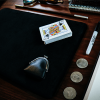 Suede Leather Small Pad (Black) by TCC - Trick