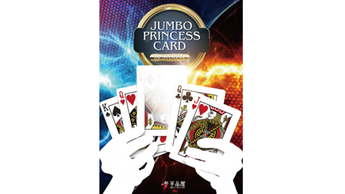 Jumbo Princess Card Trick by Tejinaya Magic - Trick