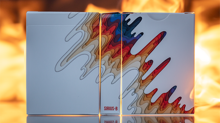 Sirius B V2 Playing Cards by Riffle Shuffle- Limited