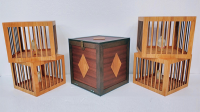 Everything to 4 Dove Cages (Wooden) by Tora Magic - Trick