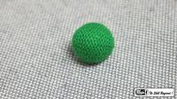 Crochet Ball .75 inch Single (Green) by Mr. Magic - Trick