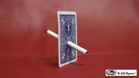 Cigarette Through Card - Bicycle Back by Mr. Magic - Trick