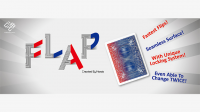 Modern Flap Card (Red Box Face to Blue Back Card to Court Card) by Hondo