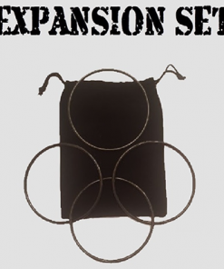 Expansion Set in Dark Black (Gimmick and Online Instructions) by Matthew Garrett - Trick