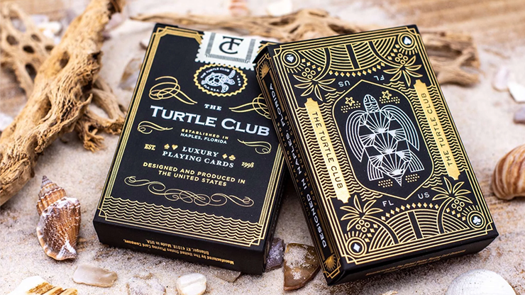 The Turtle Club Playing Cards