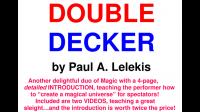 DOUBLE DECKER by Paul A. Lelekis Mixed Media DOWNLOAD