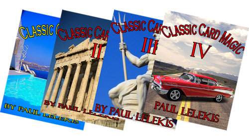 THE TOTAL PACKAGE by Paul A. Lelekis The Classics of Card Magic Volumes I