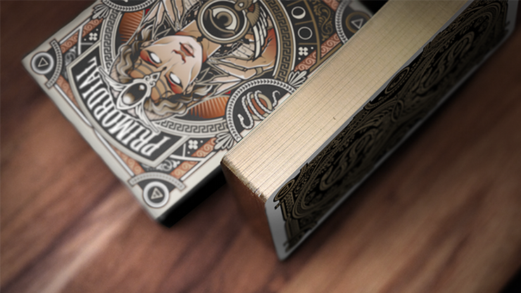 Primordial Greek Mythology Playing Cards (Gold Gilded Aether Edition)