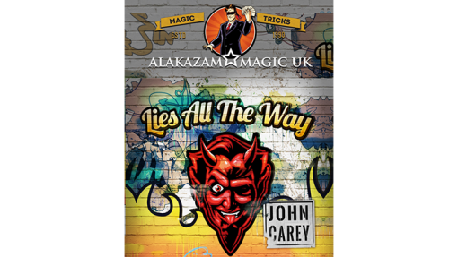 Lies All the Way Red (Gimmicks and Online Instructions) by John Carey - Trick