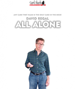 All Alone (Gimmick and Online Instructions) by David Regal - Trick