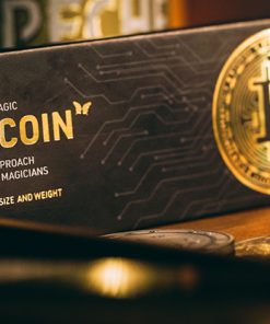 The Bitcoins Silver (3 Gimmicks and Online Instructions) by SansMinds - Trick
