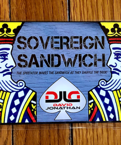 Sovereign Sandwich BLUE by David Jonathan