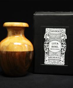 Lota Bowl (Mixed Wood) by Zanders Magical Apparatus - Trick