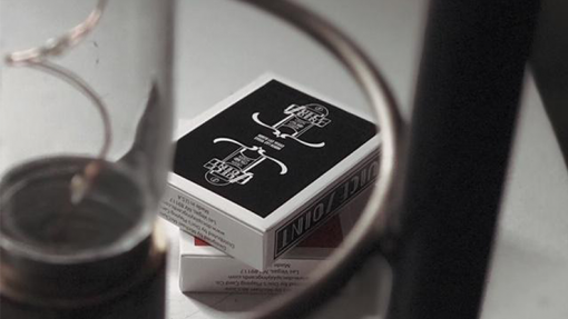 Juice Joint (Black) Playing Cards by Michael McClure