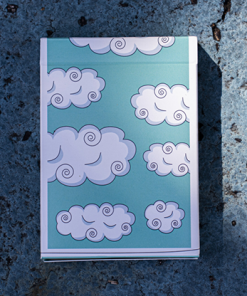 Cloud 9 (Numbered Seals) Playing Cards
