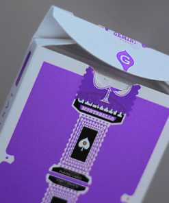 Gemini Casino Purple Playing Cards by Gemini