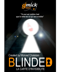 BLINDED RED (Gimmick and Online Instructions) by Mickael Chatelain - Trick