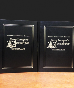 Apocalypse Deluxe Set 4 Books (Signed and Numbered) by Harry Lorayne - Book