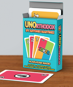 UNOrthodox (Gimmicks and Online Instructions) by Antonio Martinez - Trick