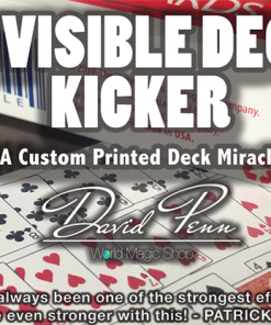 Invisible Deck Kicker (Gimmicks and Online Instructions) by David Penn - Trick