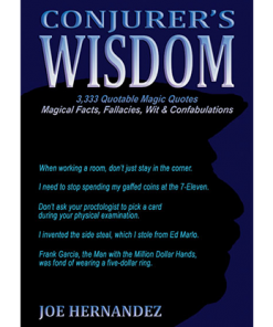 Conjuror's Wisdom by Joe Hernandez - Book