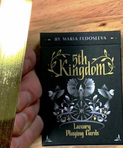 5th Kingdom Semi-Transformation (Artist Edition Gilded Gold 1 Way) Playing Cards