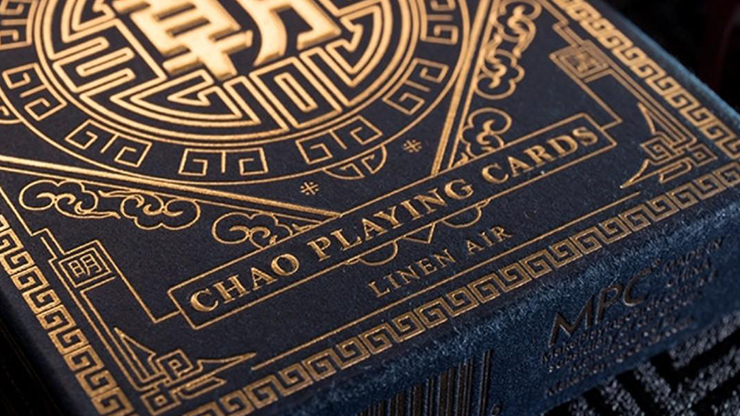 Chao (Blue) Playing Cards by MPC