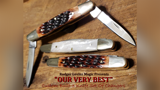 OUR VERY BEST Color Changing Knives by Rodger Lovins - Trick