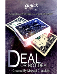 DEAL NOT DEAL Blue (Gimmick and Online Instructions) by Mickael Chatelain - Trick