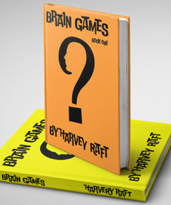 BRAIN GAMES (2 Volume Set) by Harvey Raft - Book