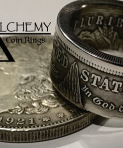 Kennedy Half Dollar Ring (Size: 9.5) by Alchemy Coin Rings - Trick