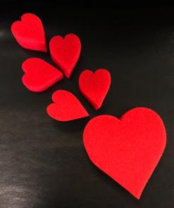 Sponge Heart Set (Red) by Goshman