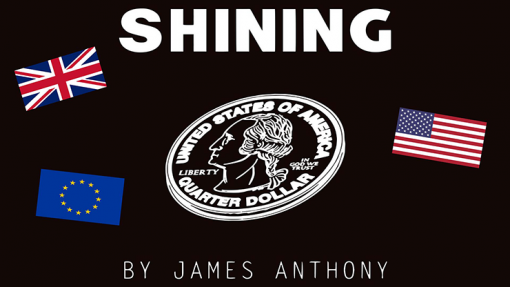 Shining EURO (Gimmicks and Online Instructions) by James Anthony - Trick