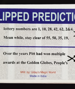 CLIPPED PREDICTION (Lotto/Golden Globe) by Uday - Trick