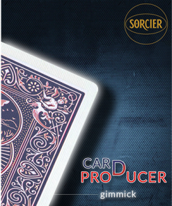 Card Production Gimmick Blue by Sorcier Magic - Trick