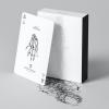 Black Trauma White Edition Playing Cards