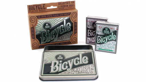 Bicycle Retro Tin Playing Cards by US Playing Card Co