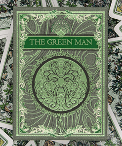 The Green Man Playing Cards (Spring)  by Jocu