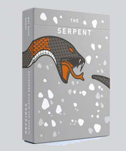 The Serpent (White) Playing Cards