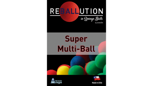 Super Multi Ball (Gimmicks and Online Instructions) by GABRIEL GASCON and Aprendemagia - Trick