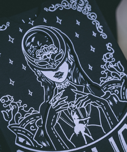 Silence (Gilded) Playing Cards