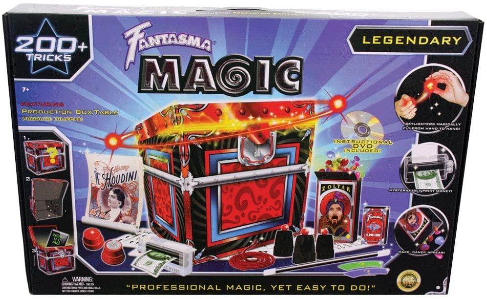 legendary magic set 200 tricks  fantasma magic