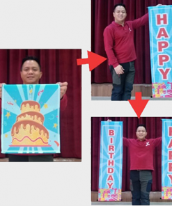 Amazing Banner (Happy Birthday) by JL Magic - Trick