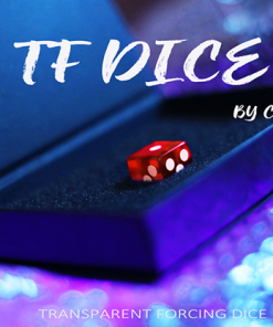 TF DICE (Transparent Forcing Dice) RED by Chris Wu - Trick