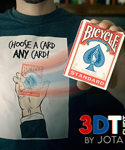 3DT / CHOOSE A CARD ANY CARD (Gimmick and Online Instructions) by JOTA - Trick